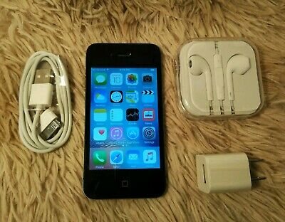Apple iPhone 4s 12GB Black Unlocked A1387 Sprint  for sale  Shipping to India