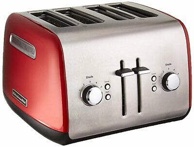 KitchenAid RKMT4115ER Toaster with Manual High-Lift Lever, Empire Red