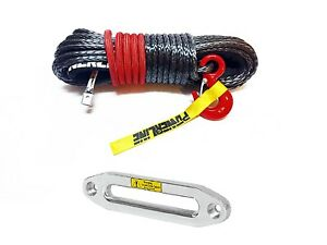 12mm-x-28-m-SYNTHETIC-WINCH-ROPE-Dyneema-SK75-14000-kg-ALUMINUM-HAWSE