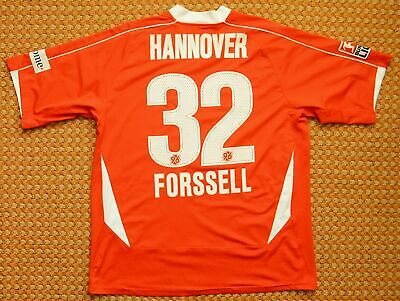 2008 - 2009 Hannover 96, Home Football Shirt by Under Armour, #32 Forssell, XL image