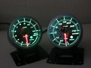 EGT-PYRO-GAUGE-52mm-PYROMETER-Green-background-Custom-color-choice