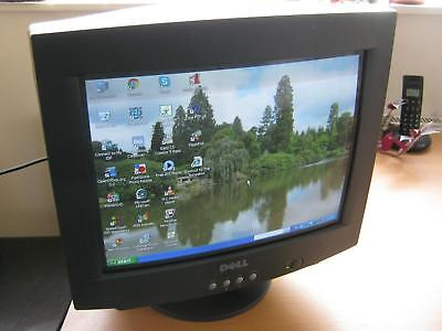 "Dell E771a 16"" inch Computer Monitor CRT from December 2001 inc power & VGA lead"