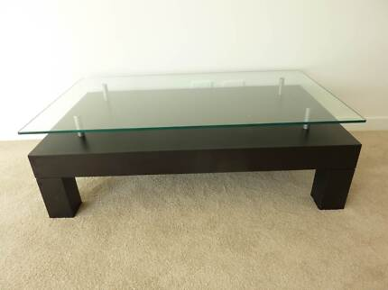 Coffee Table With Glass Top Brand Cellini