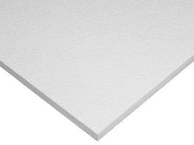 Hdpe High Density Polyethylene Plastic Sheet 14 X 24 X 48 Natural Textured