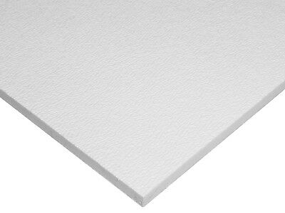 Abs White Plastic .125 - 18 X 24 X 24 Textured 1 Side Vacuum Forming Sheet