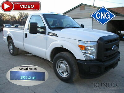 2013 Ford F250 2WD CNG truck. Selling for parts only 3306 miles! VIDEO #2709