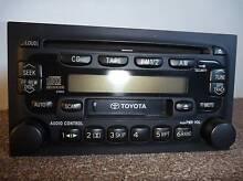 Genuine Toyota AM/FM Radio CD Radio Cassette Player Ashfield Ashfield Area Preview