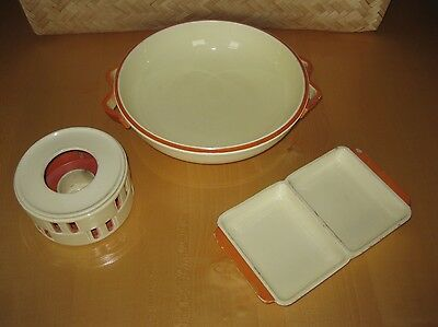Rar! Keramik Wächtersbach Art Déco Ursula Fesca 30er 20th Pottery Bauhaus Ära