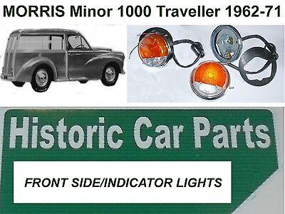 Morris Minor 1000 1962-71 Green Illuminated INDICATOR FLASHER ARM Switch