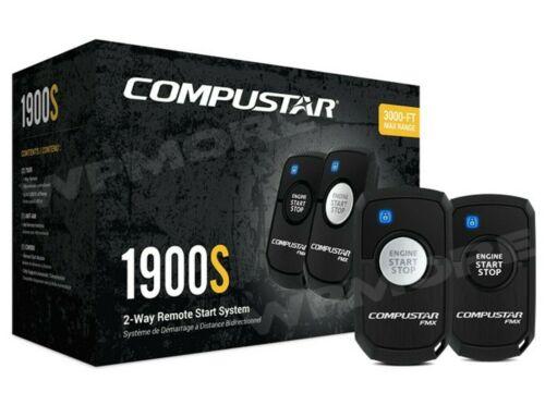 Compustar CS1900-S 2-Way 3000-FT Range LED R3 Remote Start Keyless System cs4900