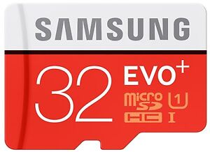 Details about Samsung 32GB EVO Plus Micro SD SDHC UHS-I Class 10 Memory Card- Upto 80MB/S