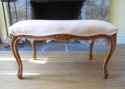 ANDRE ORIGINALS FRENCH PROVINCIAL Bergere Style Stool