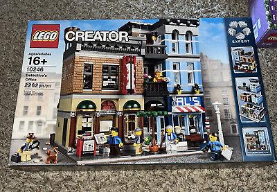Lego Creator Expert Detective'S Office 10246 Modular Building Set Retired New