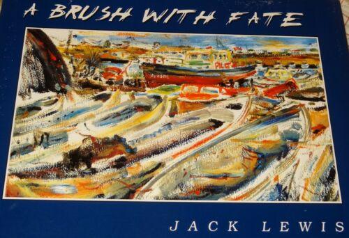 1st Print The Brush Of Fate Jack Lewis DELAWARE Murals Paintings Drawings Book
