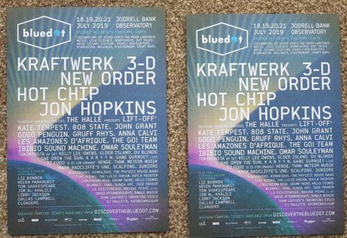 2 Flyers - Kraftwerk - Bluedot Festival - July 2019