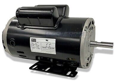 5hp Spl 1ph Air Compressor Electric Motor Replaces 160-0266 Kobalt