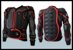 MX Motocross Youth Pressure Suit Body Armour Off-road/Dirt Bike/BMX Junior/kid