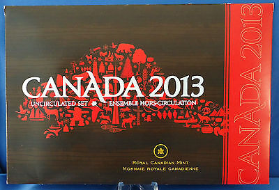 2013 Uncirculated Set Royal Canadian Mint Select Quality Coins LIMITED MINTAGE