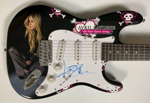 Avril Lavigne JSA Autograph Signed Guitar Stratocaster