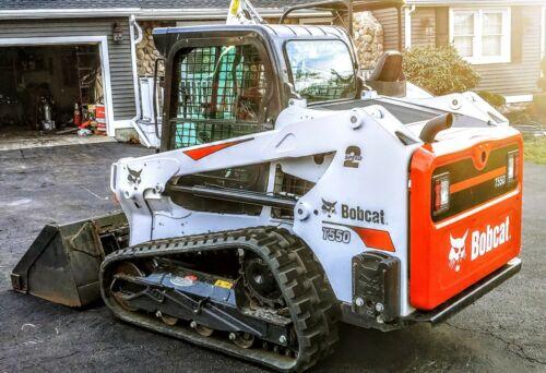 Bobcat T550 skid steer track loader
