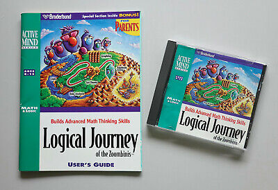 Logical Journey of the Zoombinis PC CD-ROM & User's Guide