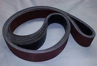 """2""""x 42"""" Sanding Belts A/O """"X' Variety Pack (12pcs)"""