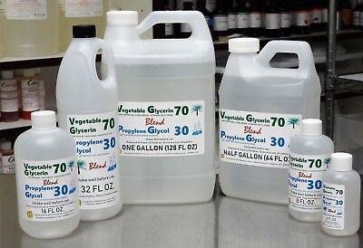 70/30 BLEND VG / PG VEGETABLE GLYCERIN & PROPYLENE GLYCOL USP KOSHER FOOD GRADE](E Craft)