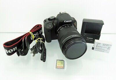 Canon Rebel T4i Digital SLR Camera 18MP + 18-135mm Zoom Lens 2.2 Clicks