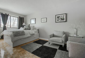 Bachelors / Studios - HEATED for rent in  West Island Montreal