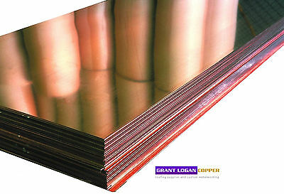 Copper Sheet 0.0216 Thick 16oz 24 Ga 18x96 Free 48 State Shipping