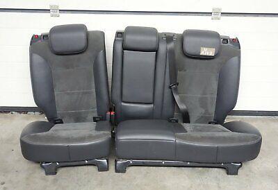 Mercedes ML W164 Leder Alcantara Teilleder Sitz Sitzbank Rücksitzbank hinten