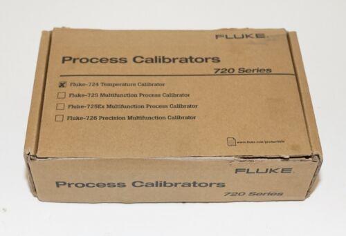 FLUKE 724 TEMPERATURE CALIBRATOR METER TESTER NEW OPEN BOX