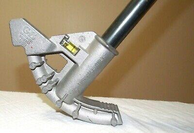 Gardner Bender 930 12 Thinwall Hand Pipe Bender Conduit Bending Handle Levels