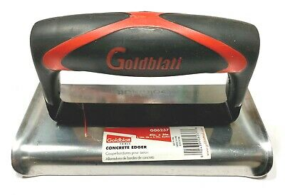 Goldblatt Concrete Edger 6 X 3 Stainless Steel G06237
