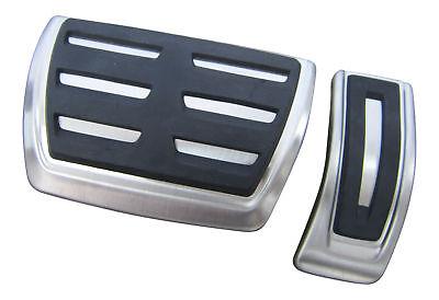 Original Audi Pedales Pedal Caps Goma Automático para Audi A4 B9 8w...