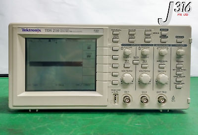 8887 Tektronix Two Channel Digital Real-time Oscilloscope 60 Mhz 1gss Tds210