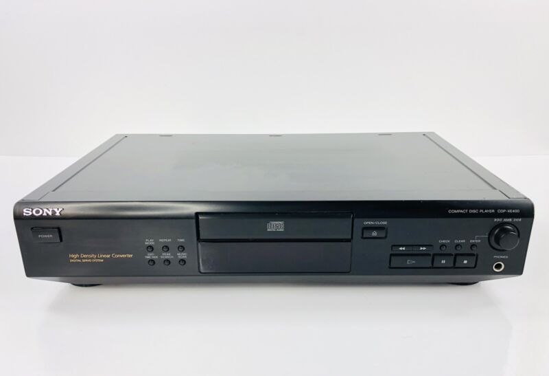 Sony CDP-XE400 CD Player Vintage