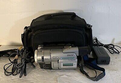 Sony DCR-TRV103 Digital8 HI8 8mm Video8 Camcorder Player Camera Video Transfer