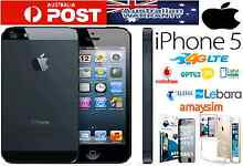 BLACK IPHONE 5 , WITH FACTORY UNLOCKED FREE GIFT Strathfield Strathfield Area Preview
