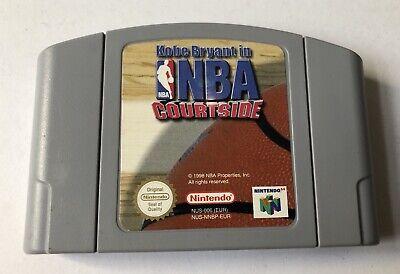 Kobe Bryant in NBA Courtside Nintendo 64 N64 Loose Cartridge Only PAL