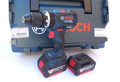 Bosch Akku-Schlagbohrschrauber GSB 18V-60C, 2x4,0 Ah, L-Boxx, Vollmetallfutter online kaufen