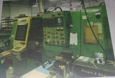 Mori Seiki Model Zl-15s Cnc Turning Center Wsubspindle
