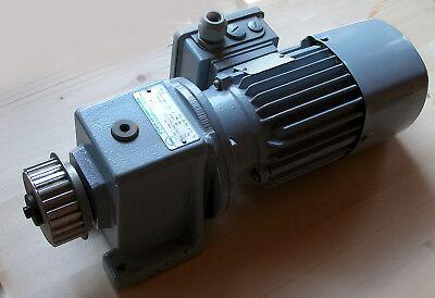 Getriebemotor, Stöber-Getriebemotor 0,37 kW; 88 U/min; 38 Nm; gebraucht