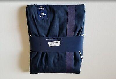 NWTS Stafford  2 Piece Mens Broadcloth Sleep Set Size XXL Color Navy Tag- -