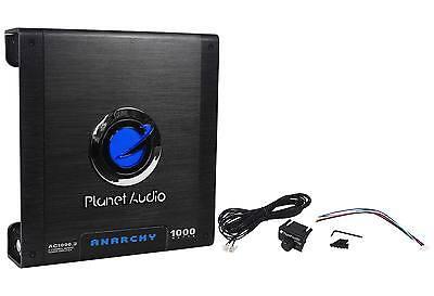 New Planet Audio Anarchy AC1000 2 1000 Watt 2 Channel Car Amplifier Amp + Remote