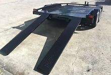 BUGGY/MINI CAR CARRIER 10X6 WITH RAMPS NEW TYRES & RIMS INCLUDED Gold Coast Region Preview