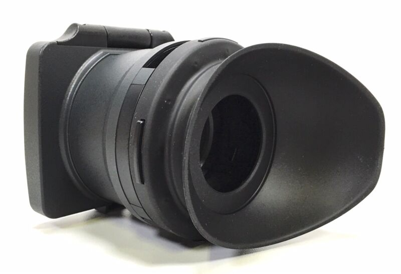 Sony PMW-400 PMW400 PMW-580 PMW580 Viewfinder Loupe Part With Rubber Eye Cup