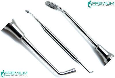 Bone Spoon Graft Packer 4mm Dental Periodontal Premium Instruments