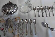 Vintage Silver spoons and dish Cooma Cooma-Monaro Area Preview