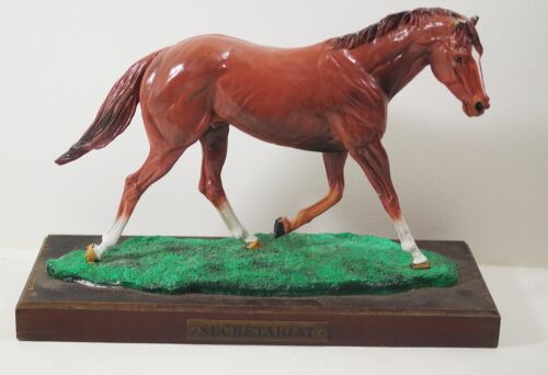 SECRETARIAT BRONZE SCULPTURE  limited ed. LARGE